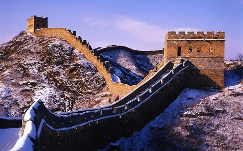 Wallpaper of the Day: Snow on the Great Wall