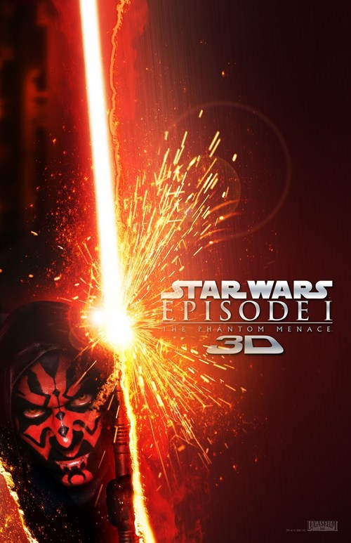 Phantom Menace 3D Posters of the Day