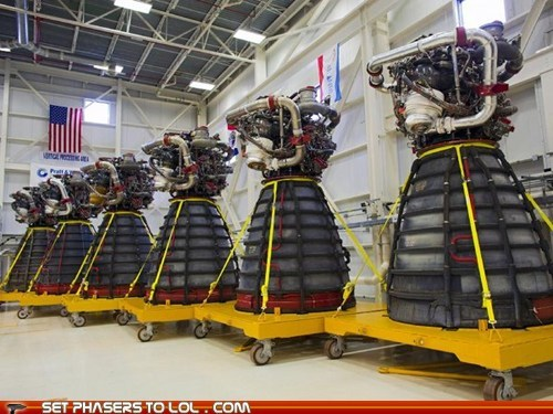 Science Fact: NASA's New Space Shuttle Engines Look Eerily Familiar