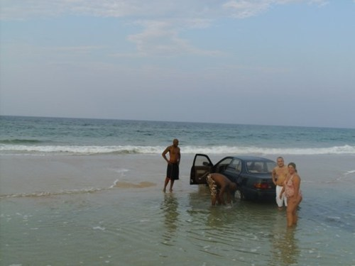 Beach Parking FAIL