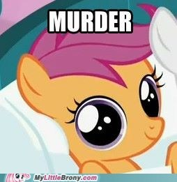 There Was Always Something A Little... Off About Scootaloo