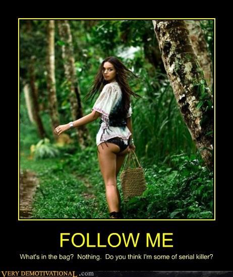 follow,hilarious,serial killer,Sexy Ladies