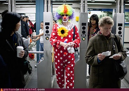 """It"" Takes the Subway"