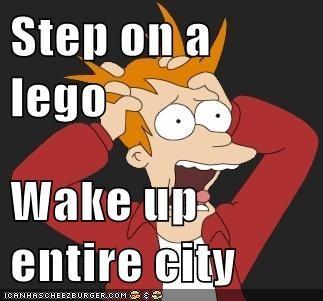 Step On a Lego
