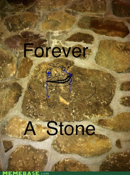 boulder,forever alone,stone