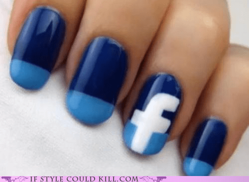 cool accessories,facebook,nails