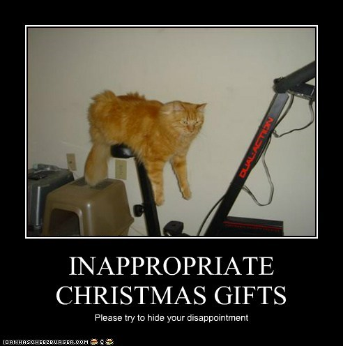 INAPPROPRIATE CHRISTMAS GIFTS