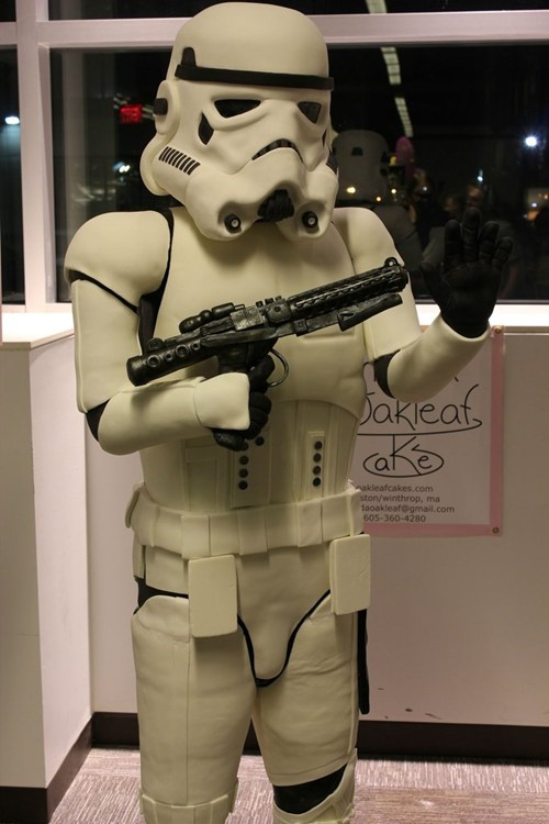 Life-Size Stormtrooper Cake of the Day