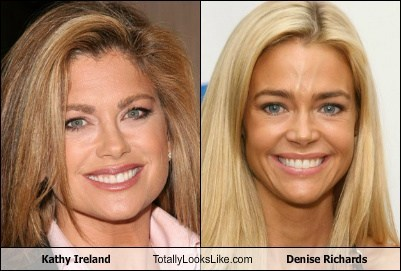 Kathy Ireland Totally Looks Like Denise Richards