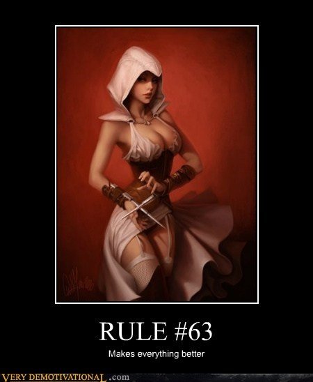 assassins creed,hilarious,rule 63,Sexy Ladies