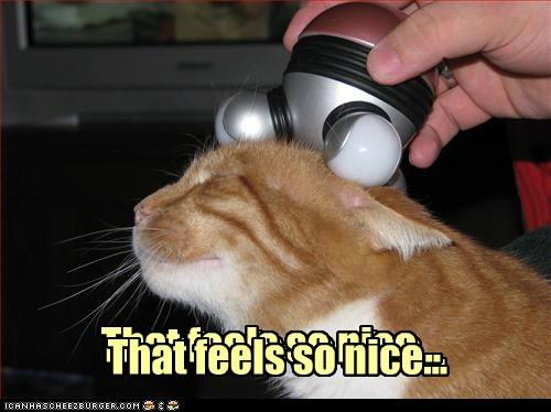 That feels so nice...