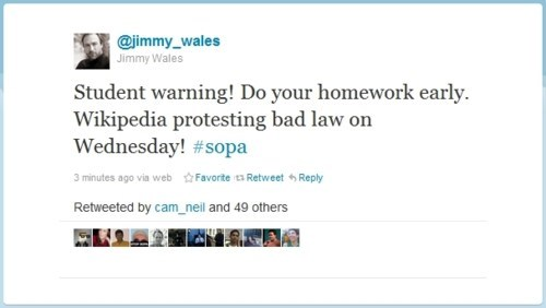 internet blackout,jimmy wales,PIPA,SOPA,wikipedia