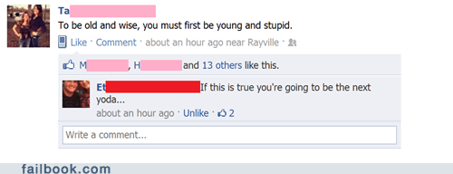 Failbook: Wise Idiot