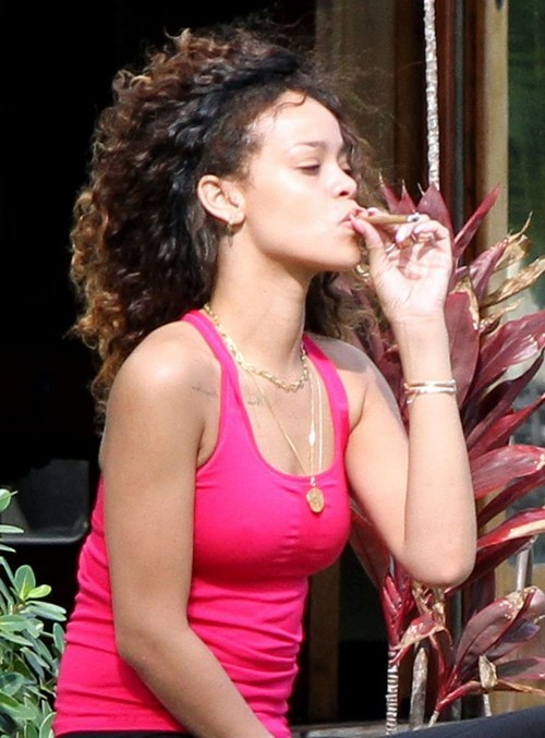 Rihanna's Reefer of the Day