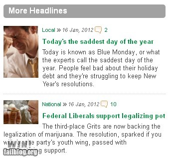 News Juxtaposition WIN