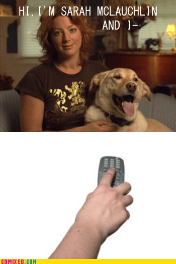 best of week,change the channel,commercial,pets,Sad,Sarah McLachlan,TV