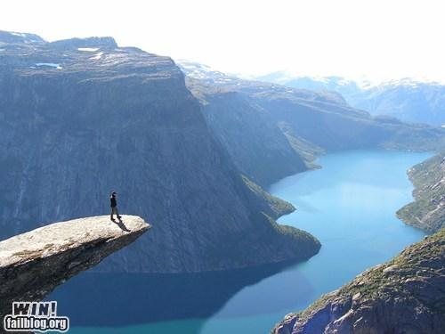 cliff,landscape,mother nature ftw,Norway,scenery,vertigo,view