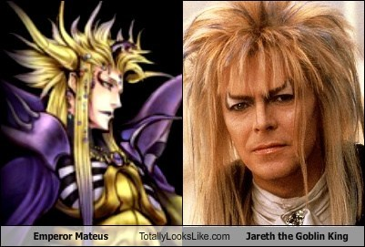 Emperor Mateus Totally Looks Like Jareth the Goblin King
