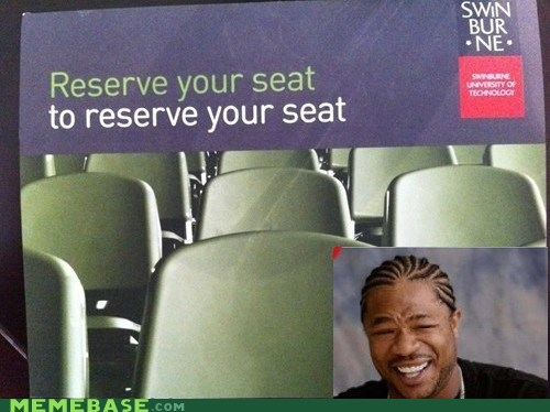 Yo Dawg, I Heard You Like Reservations