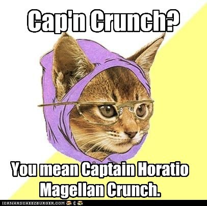 Hipster Kitty: Crunchitize Me, Horatio