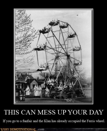 bad day,ferris wheel,hilarious,kkk