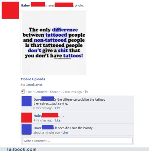 Annoying Facebook Apathy.