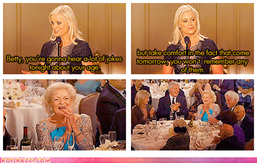 Amy Poehler,betty white,funny,golden globes