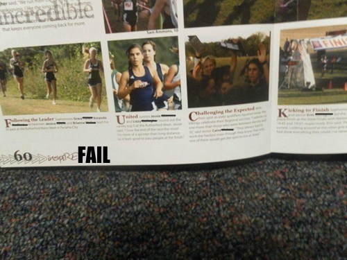 Yearbook Letterhead FAIL