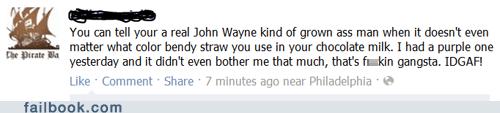 gangsta,IDGAF,lol,manly,straw