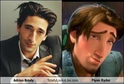 Adrian Brody Totally Looks Like Flynn Ryder