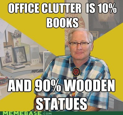 "Anthropology Professor: Chronological Order Is Not ""Clutter"""