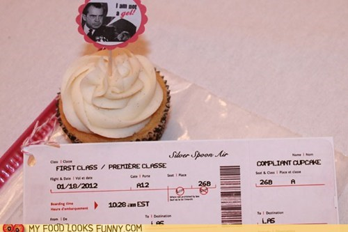 TSA Friendly Cupcakes