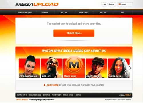 Follow Up of the Day: Megaupload Founder, Three Others Arrested in New Zealand