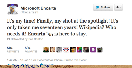 You Can Always Count on Encarta