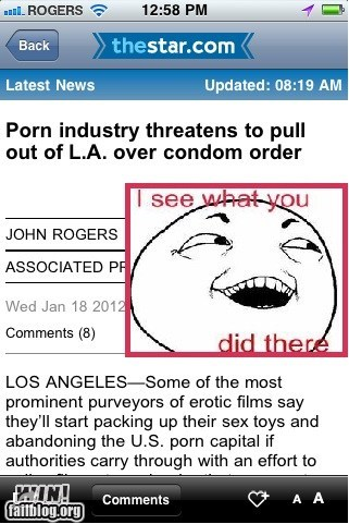 california,completely relevant news,I see what you did there,LA,law,pr0n