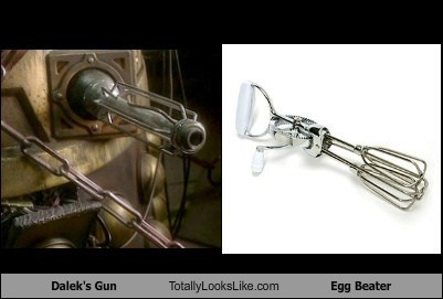Dalek's Gun Totally Looks Like Egg Beater