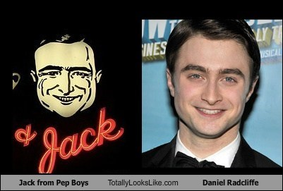 Jack from Pep Boys Totally Looks Like Daniel Radcliffe