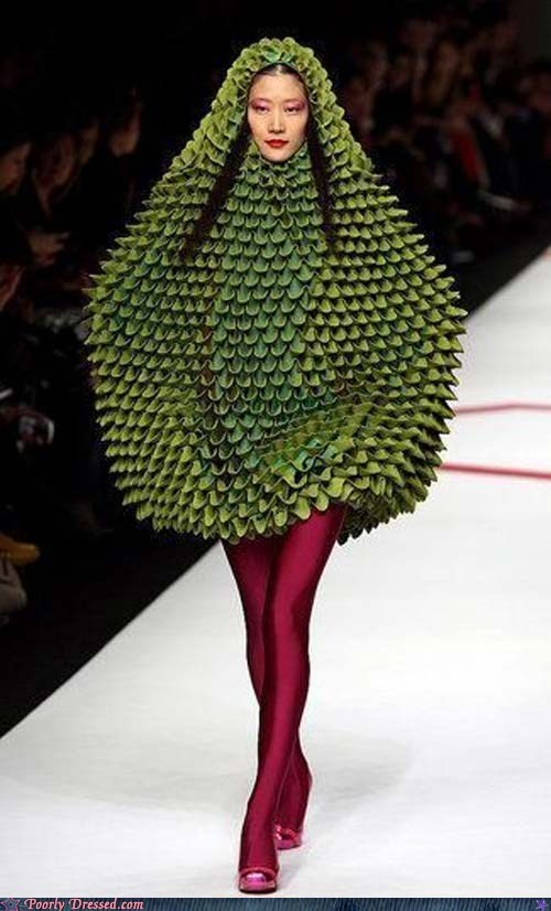 Who let that papaya onto the runway?