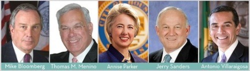 Pro-Marriage Equality Mayors of the Day