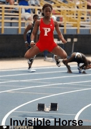 athlete,athletics,invisible,invisible horse,run,running,sports