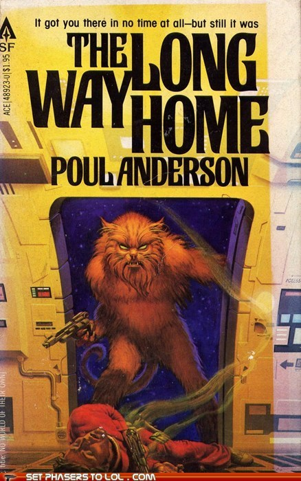 WTF Sci-Fi Book Covers: The Long Way Home