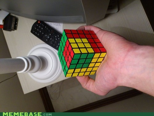 Yo Dawg, I Heard You Like Rubik's