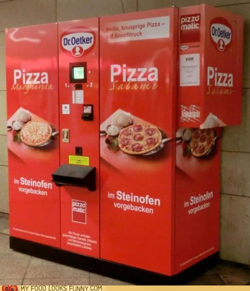 Pizza Machine Give Me What I Want