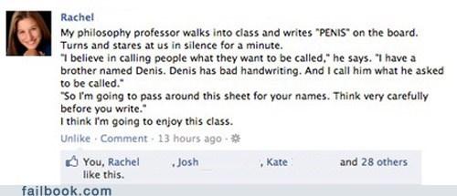 names,penmanship,professor,school,win