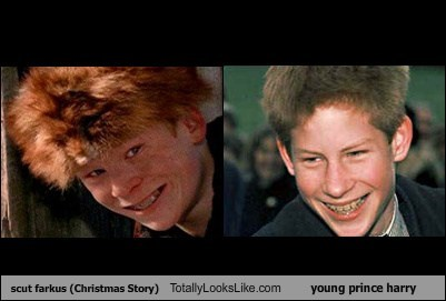 Scut Farkus (Christmas Story) Totally Looks Like Young Prince Harry