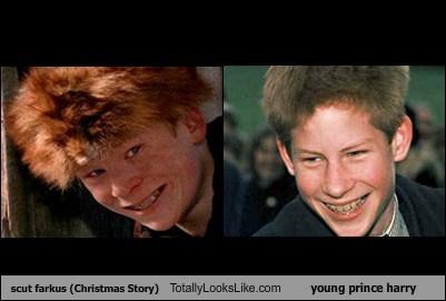 Scut Farkus (Christmas Story) Totally Looks Like Young Prince Harry