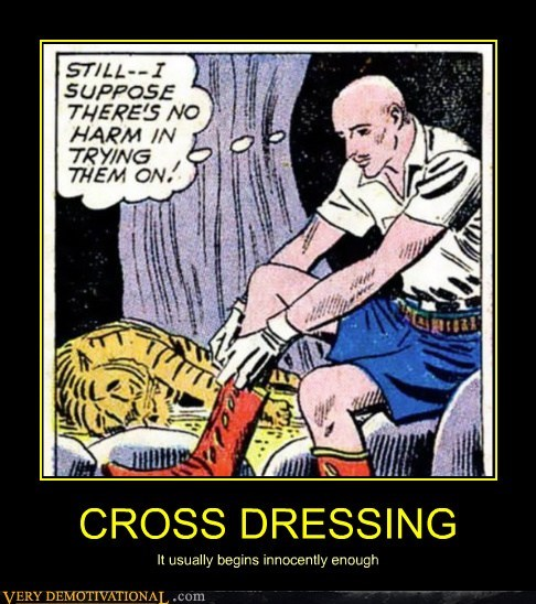 CROSS DRESSING