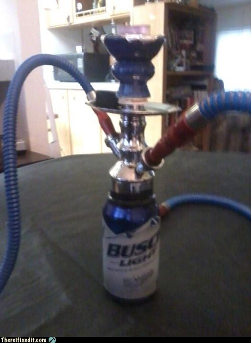Turn a Beer Can Into a Water Jar for Your Hookah