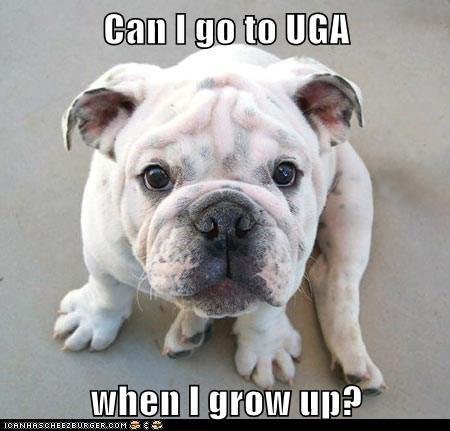 Can I go to UGA  when I grow up?