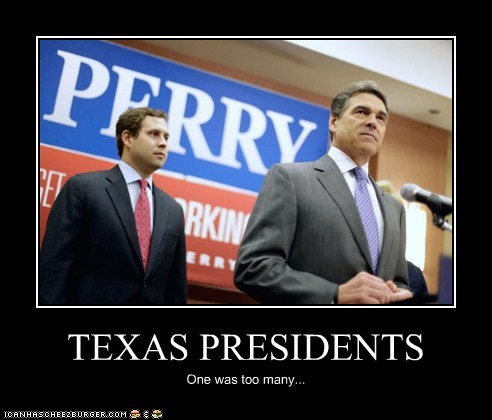 TEXAS PRESIDENTS